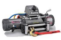 Лебёдка электрическая 24V Runva 12000 lbs 5443 кг (стальной трос)