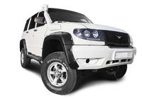 Расширители колёсных арок УАЗ Патриот (без накладок на оба бампера) дорестайлинг
