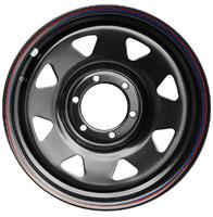 Диск усиленный Тойота Ниссан стальной черный 6x139,7 7xR17 d110 ET+30 (треуг. мелкий)