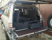 Органайзер для Toyota Land Cruiser 80 (2 выдв.ящика+спальник)