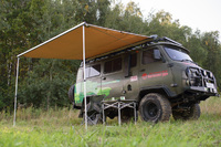 Маркиза автомобильная РИФ 2х2 м