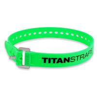 Ремень крепёжный TitanStraps Industrial зеленый L = 64 см (Dmax = 18 см, Dmin = 5,5 см)