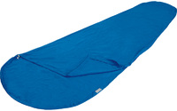 Вставка High Peak Cotton Inlett Mummy в спальный мешок, хлопковый, синий, 225 см