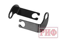 Кронштейны РИФ для переноса крепления тормозных шлангов УАЗ Патриот лифт 50 мм (мех. РК)