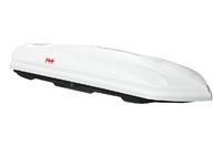 Бокс на крышу РИФ Спорт 420 л белый глянец, двухсторонний