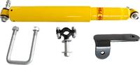 Демпфер РИФ рулевой с кронштейнами УАЗ Хантер лифт 50 мм, УАЗ Патриот до 2019 лифт 100 мм