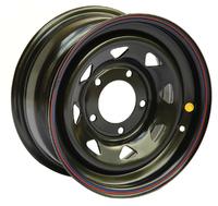 Диск усиленный УАЗ стальной черный 5x139,7 8xR15 d110 ET-19 (треуг. мелкий)