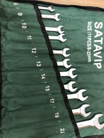 Набор ключей  8-22 SATA VIP в сумке 11 предметов