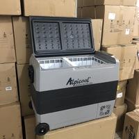 Холодильник автомобильный ALPICOOL T-60 л 12/24/220 В (2 камеры с индивидуальной регулировкой температуры)